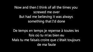 Traduction Gotye Somebody That I Used To Know lyrics