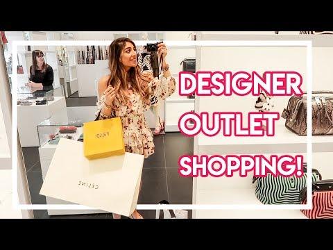 DESIGNER OUTLET SHOPPING! | Amelia Liana