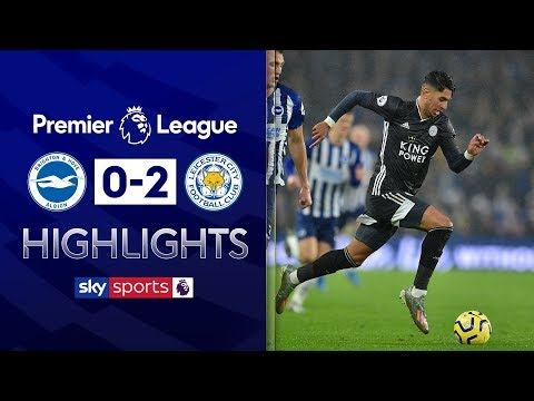 Vardy sets up Perez for Leicester win! | Brighton 0-2 Leicester | Premier League Highlights