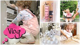 Vlog:acquisti IKEA e H&M/I primi passi/Natale in arrivo/Svuota la spesa/In Cucina con me