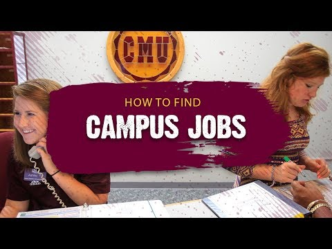 How To Find Campus Jobs — Ren