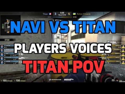 ESL Pro League Finals - NaVi vs Titan de_cache with players voices (TITAN POV)