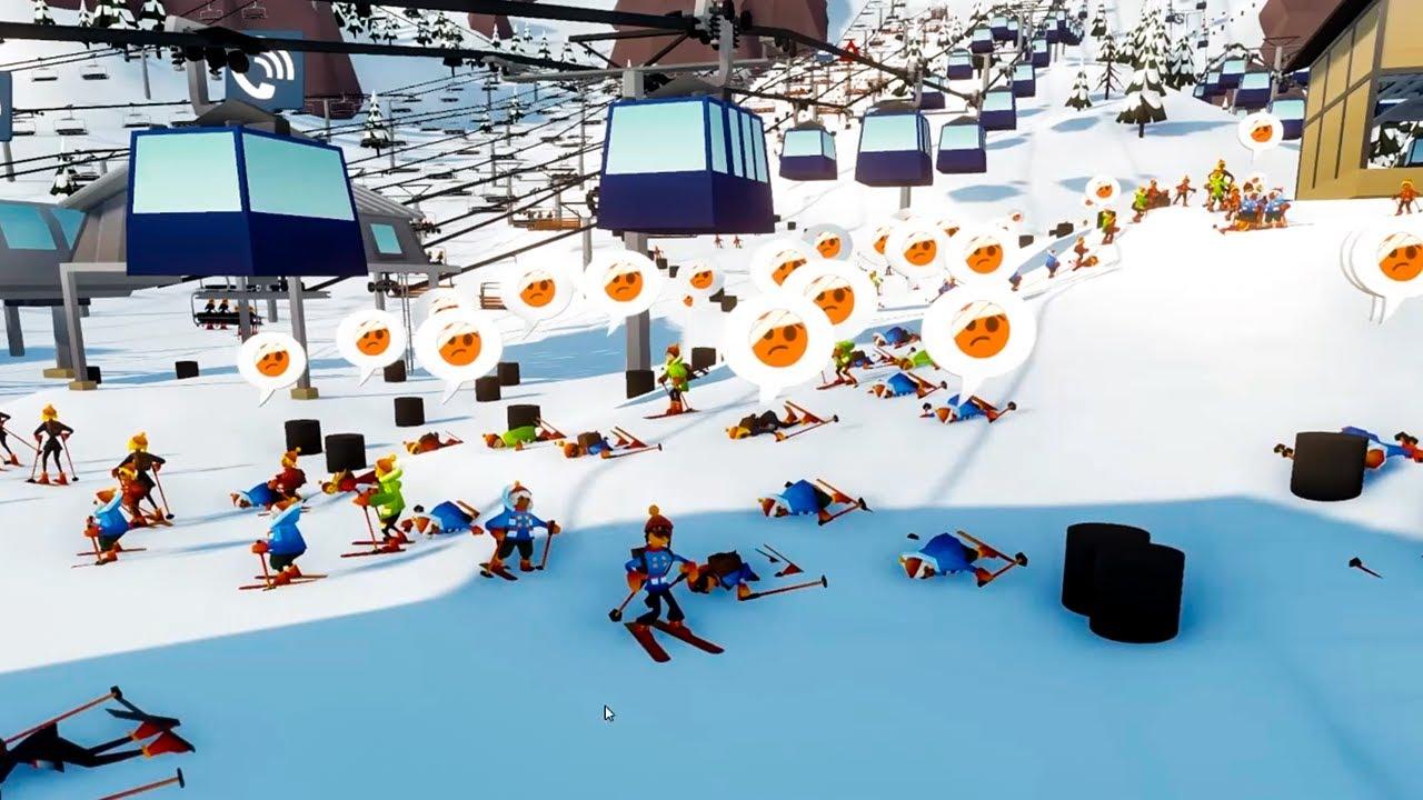 I built a MULTI MILLION DOLLAR ski resort where skiing is optional... Snowtopia!