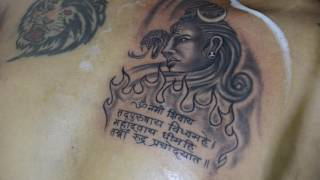 lord shiva tattoo by bhaskar