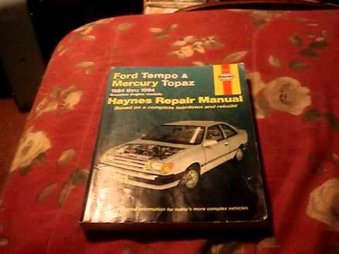 free ford tempo manual laugh youtube rh youtube com ford topaz 93 manual ford topaz 1989 manual