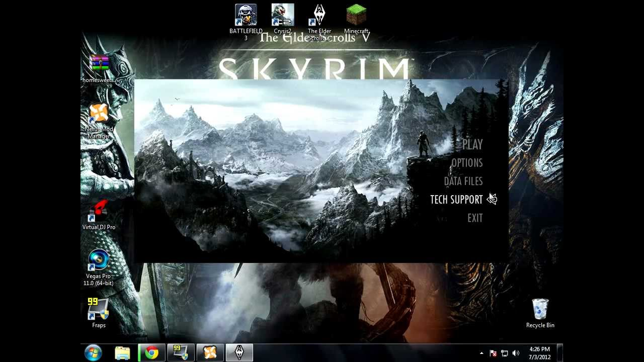 How to Install Mods on Cracked Skyrim TESV