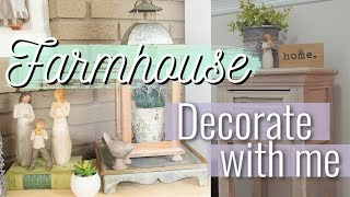 FARMHOUSE DECOR | SUMMER HOME DECOR TOUR | DECORATE WITH ME