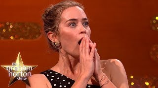 Emily Blunt's Children LOVE Her Mary Poppins Voice | The Graham Norton Show