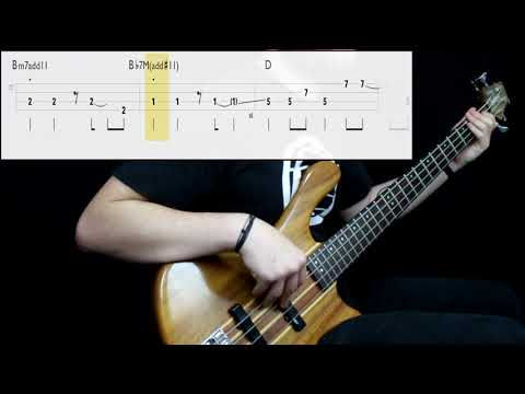 Rush - Freewill (Bass Cover) (Play Along Tabs In Video)