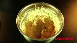 Творожный десерт в мультиварке REDMOND 01. Рецепты для мультиварки