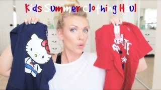 ❤ Kids Summer Clothing Haul ❤ Thumbnail
