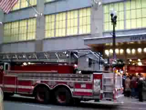 Chicago Fire Department False Alarm on State Street