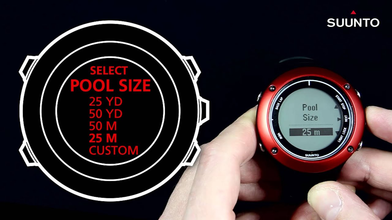 Suunto Ambit2 Ambit3 How To Use The Swimming Features Youtube