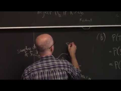 Introductory Statistics, Lecture 19A, Probability of Type I & II Errors, Power, t-Test