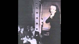 Monsieur X - Edith Piaf