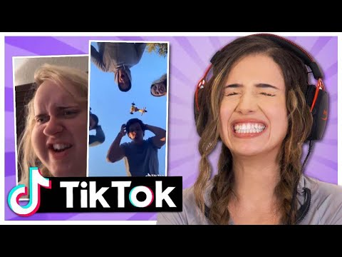 Tik Tok Try Not to Laugh Challenge! Pokimane