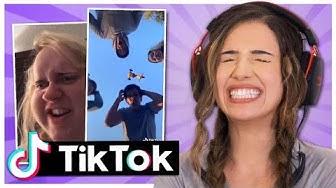 Tik Tok Try Not to Laugh Challenge! Pokimane