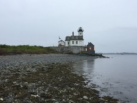 Rose Island Lighthouse in Newport, Rhode Island (PART 1)