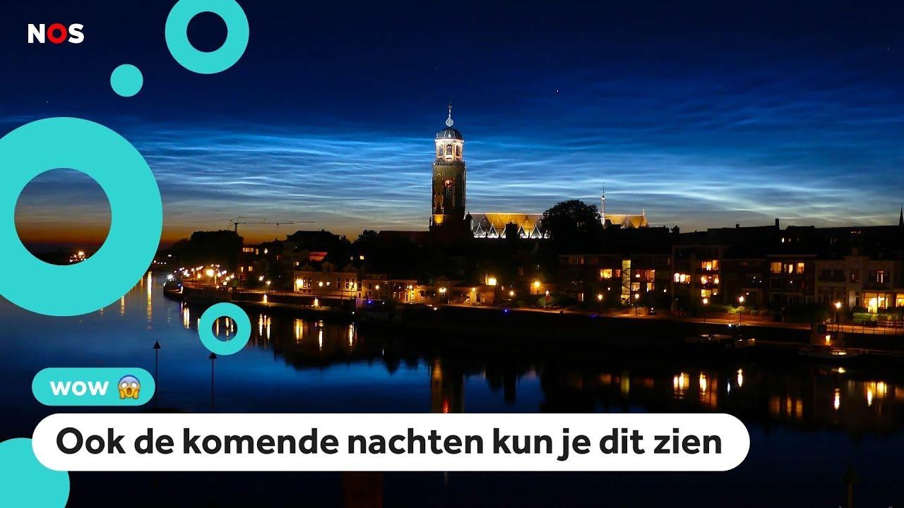 Download Wow: lichtende nachtwolken boven Nederland ✨
