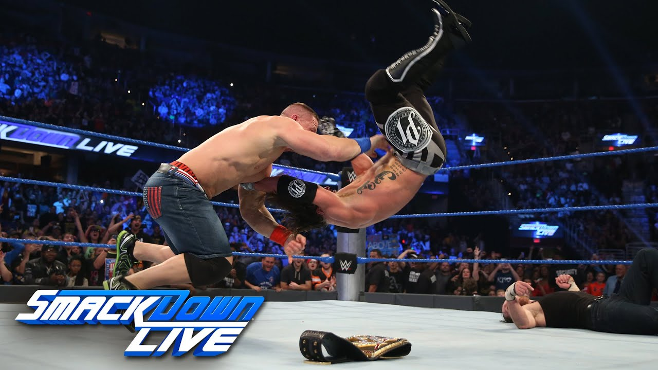 Download Dean Ambrose vs. AJ Styles – WWE World Championtitel Match: SmackDown LIVE, 27. September 2016
