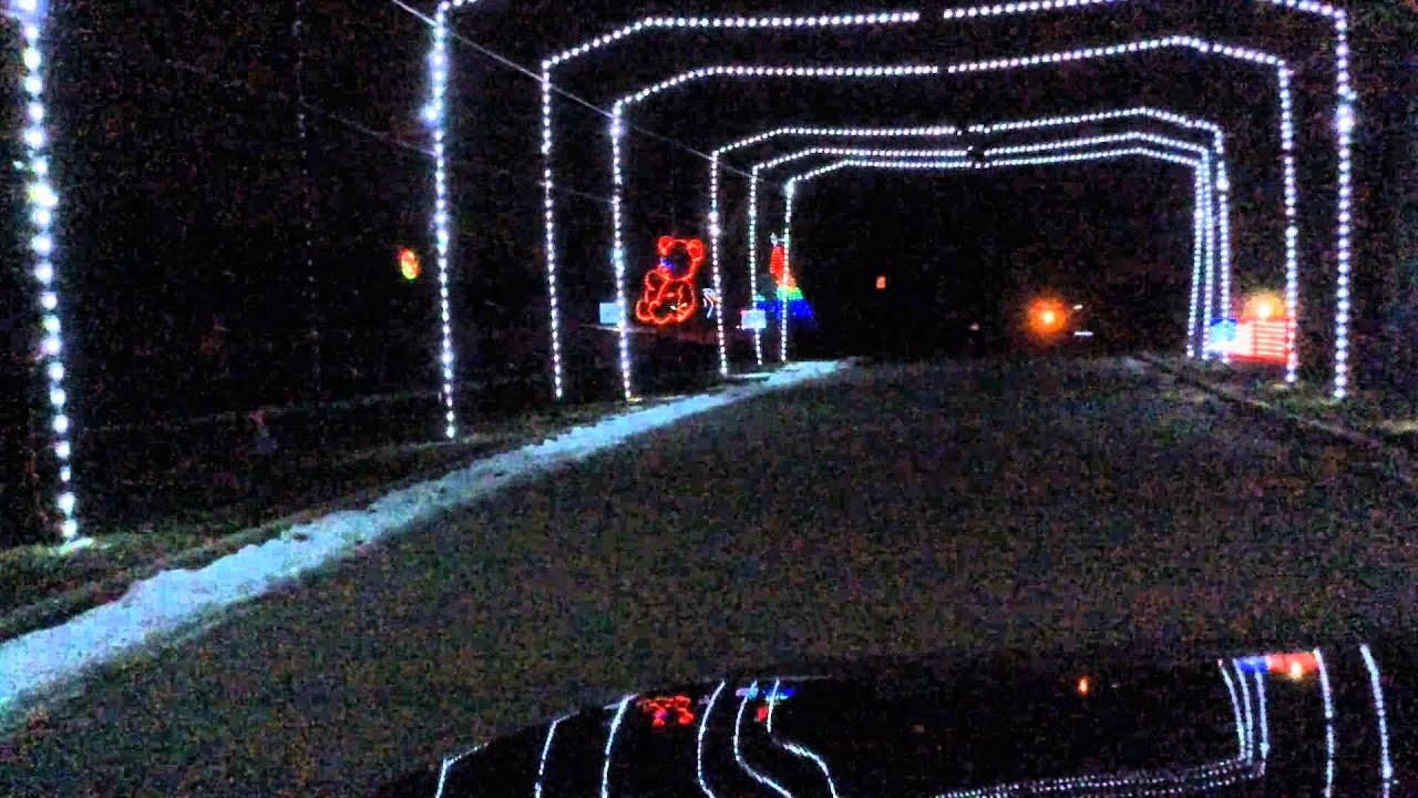Olin Park Holiday Fantasy In Lights - YouTube