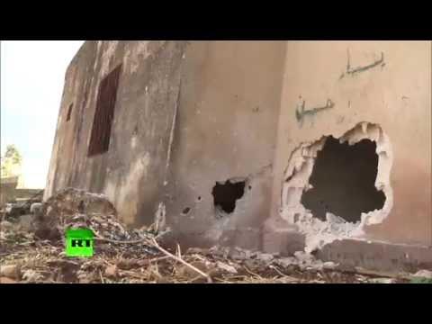 EXCLUSIF : Les djihadistes reculent en Syrie, ne laissant derrière eux que cadavres et désolation