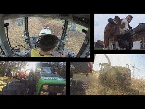 Die schönsten Momente aus der Landwirtschaft | Agrartechnik, Natur, Tiere | Best of |GoPro
