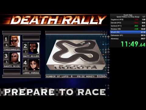 Death Rally (1996) RTA in 24:29 (New World Record)