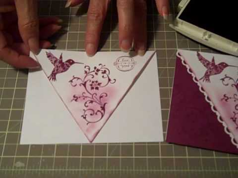 Papercraft Scallop Lace Front Card Technique