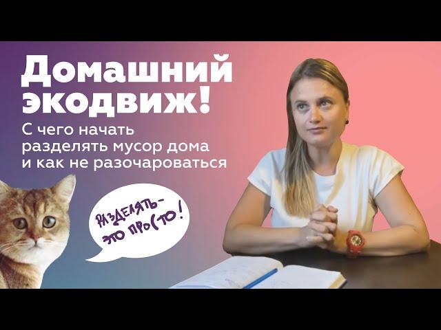 Рубрика «Домашний экодвиж». Выпуск 3.
