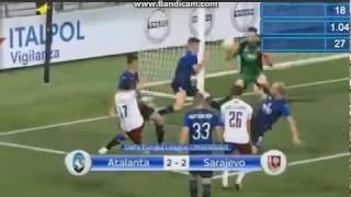 Atalanta - Fk Sarajevo 2-2