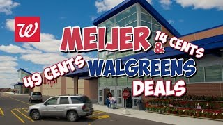 Meijer and Walgreens In Store Deals //No Register Rewards // Shop with Sarah