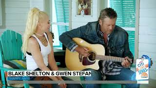"Gambar cover Blake Shelton and Gwen Stefani Perform Their New Duet ""Happy Anywhere"""