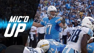 Philip Rivers Mic'd Up in Win Over Titans (Week 9) | Sound FX | NFL Films