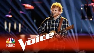 "Video The Voice 2015 - Ed Sheeran: ""Photograph"" download MP3, 3GP, MP4, WEBM, AVI, FLV November 2018"