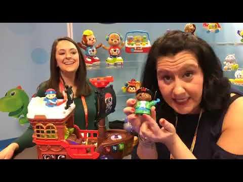 Vtech Toys Leapfrog Booth Tour New York Toy Fair 2019