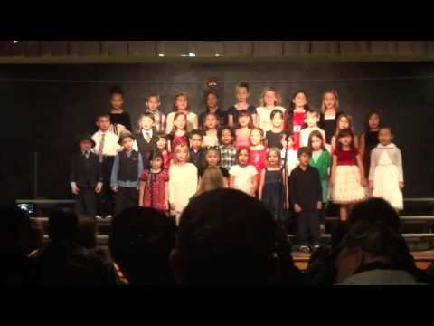 Tingalayo - Douglas' Christmas Choir Concert 2013