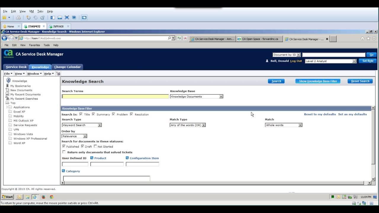Captivating CA Service Management    IT Knowledge Management   YouTube Images