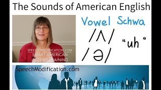 The Sounds of American English Vowel Schwa ʌ ə SMART American Accent Training