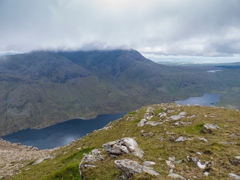 The Sheeffry Seven, a Hill walk in County Mayo, Ireland
