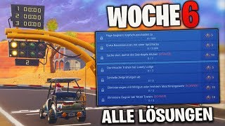 TOUTES LES SOLUTIONS À LA SEMAINE 6! (Time Checks, StoneHeads, Battle Pass Star) Fortnite Saison 5 Detu Detu