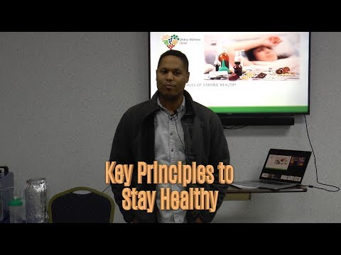 Key Principles to Stay Healthy