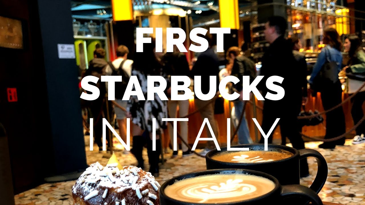 1st Starbucks in ITALY | Milano