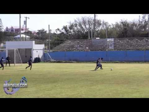 #2 St Georges Colts vs Somerset Eagles Football Bermuda March 13th 2011