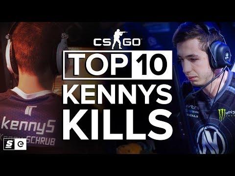 The Top 10 kennyS Kills