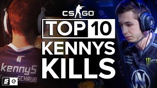 The Top 10 KennyS Kills thumbnail