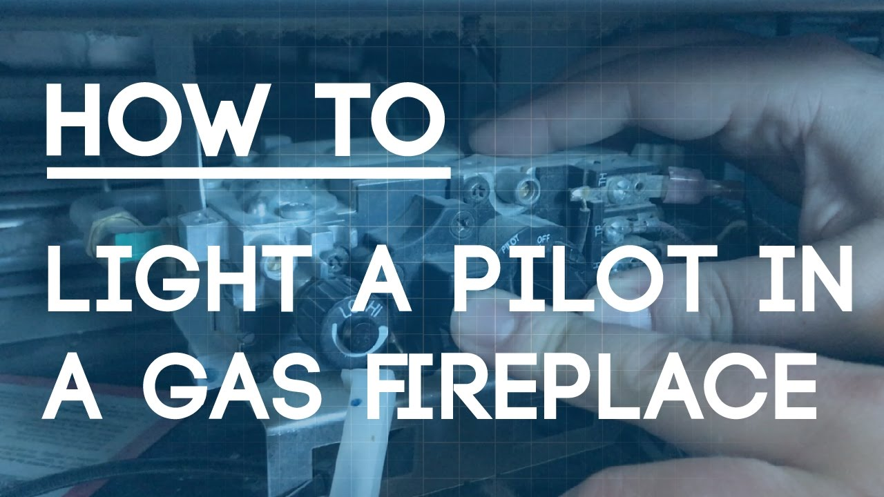 How To Light a Pilot in a Gas Fireplace