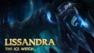 Обзор чемпиона: Лиссандра: Ледяная ведьма