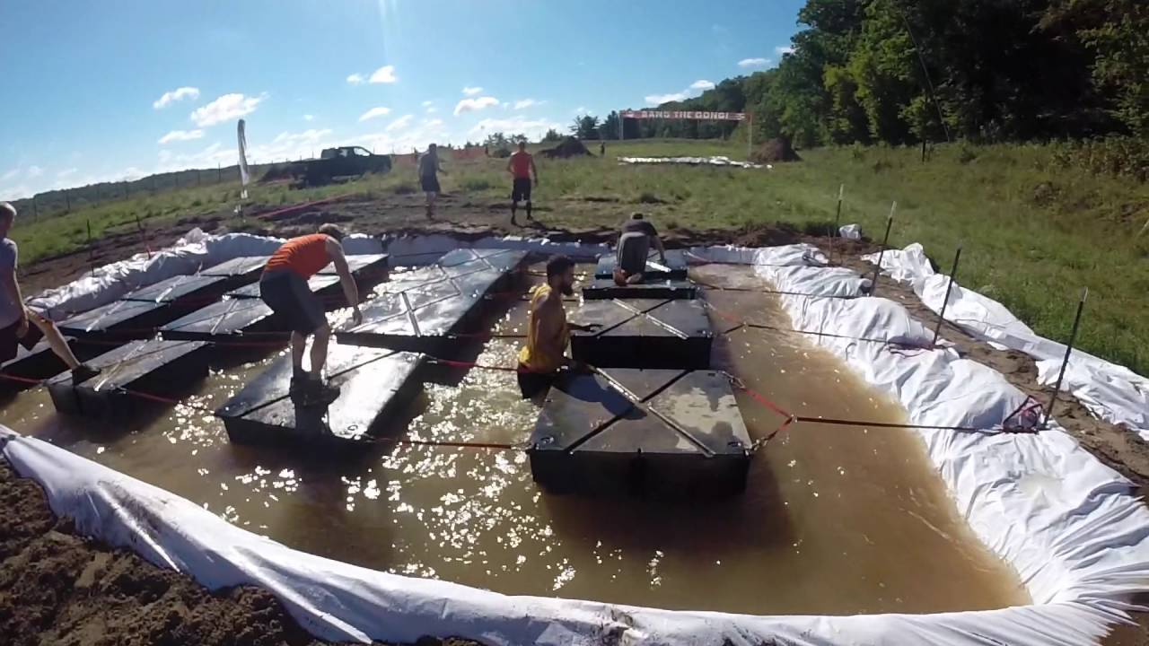 Rugged Maniac MN 2016 Obstacles Only - YouTube