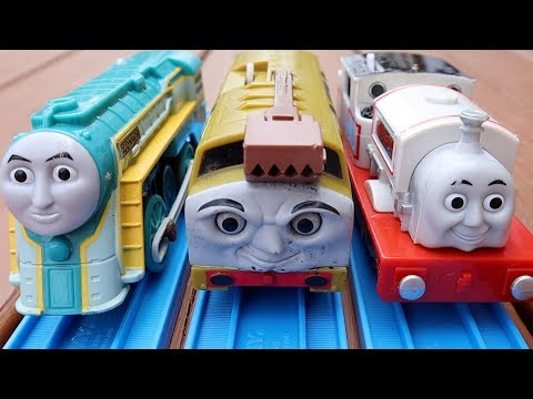 Playing With Our Yard Sale Thomas & Friends Trains & Toys